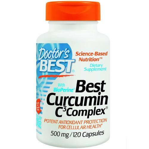 Doctor's Best Best Curcumin C3 Complex with BioPerine 500 Mg