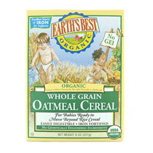 Earth's Best Whole Grain Oatmeal Cereal