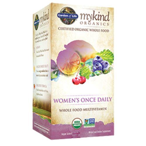 Garden of Life mykind Organics Women's Once Daily Multivitamin