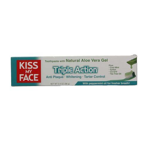 Kiss My Face Triple Action Organic Aloe Vera Toothpaste