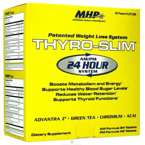 Maximum Human Performance Thyro Slim AM/PM