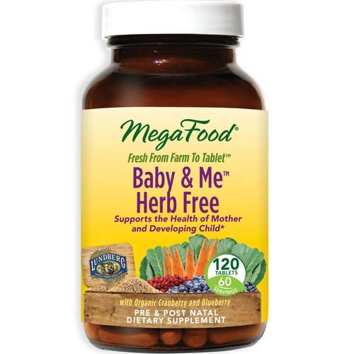 MegaFood Baby and Me Herb Free