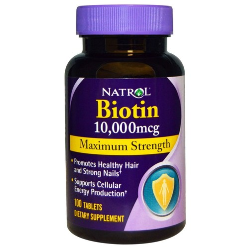 Natrol Biotin Maximum Strength 10,000 mcg