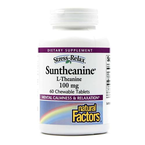 Natural Factors Stress-Relax Suntheanine L-Theanine