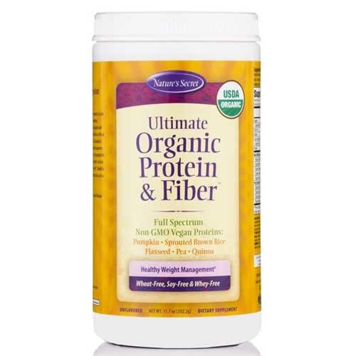 Nature's Secret Ultimate Organic Protein and Fiber