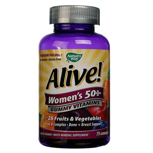 Nature's Way Alive Women's 50+ Gummy Vitamins