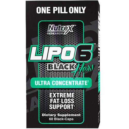 Nutrex Lipo-6 Black Hers (Ultra Concentrate)