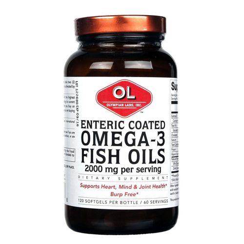 Olympian Labs Enteric Coated Omega-3 Fish Oils