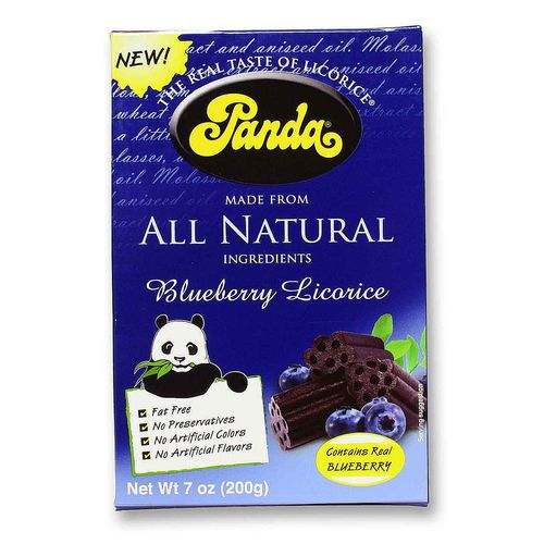 Panda All Natural Blueberry Licorice