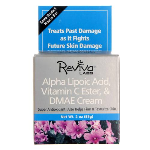 Reviva Labs Alpha Lipoic Acid Vit.C Ester & DMAE Cream