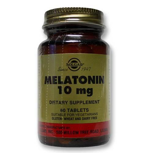 Solgar Melatonin 10 mg