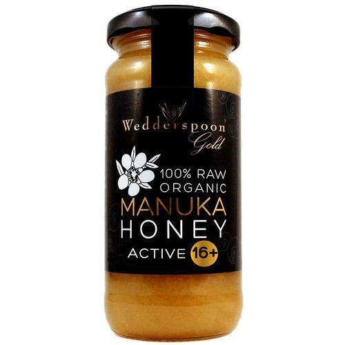 Wedderspoon Organic Raw Maunka Honey Active 16+