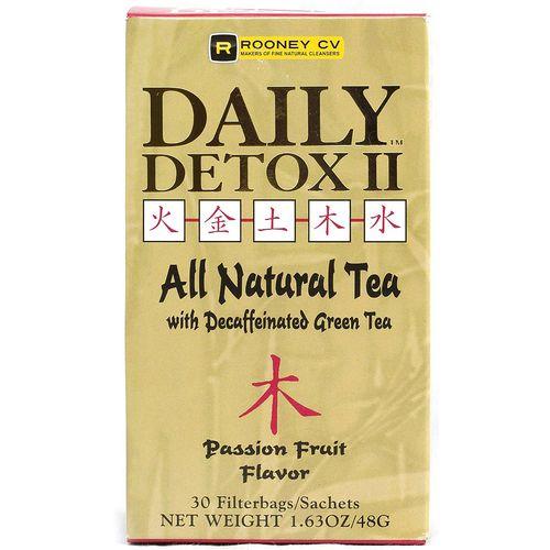 Wellements Daily Detox II Herbal Passion Fruit Tea