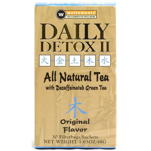 Wellements Daily Detox II Original Tea