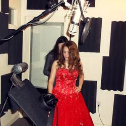 Anastasia Lee & Sister in Recording Studio