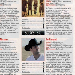 Music Connection Magazine Album Review