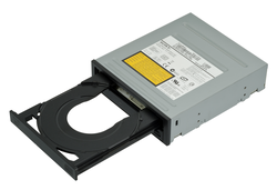 A DVD burner drive for a PC