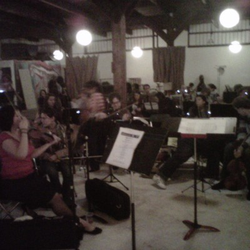 Seattle Rock Orchestra Rehearsal