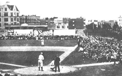 Hilltop Park                                , home of the Highlanders