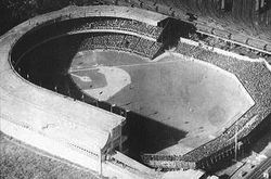 The                                 Polo Grounds                                , home of the Yankees from 1913 to 1922