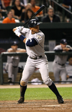Yankees' third baseman                                 Alex Rodriguez                                , 2007