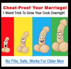 A weird trick for penis enlargement