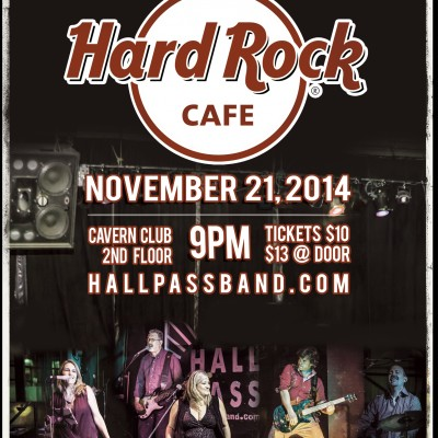 Hall Pass Band @ The Hard Rock Cafe