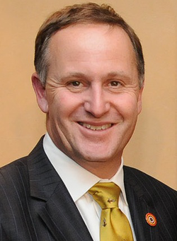 John Key, Prime Minister of New Zealand since 2008.