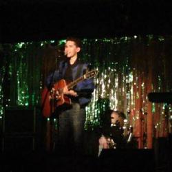 Jared on Guitar at Amplyfi