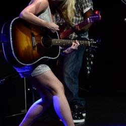 Karen rockin' out LIVE!