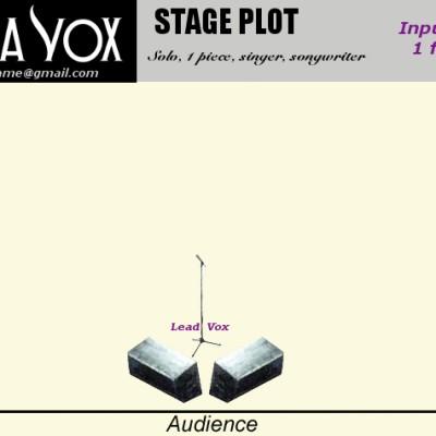 MV SOLO Stage Plot