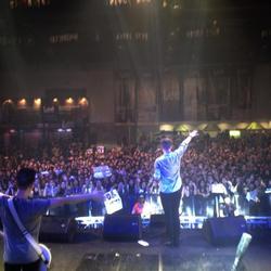 Crowd in Manila, Philippines / Aug. 2013