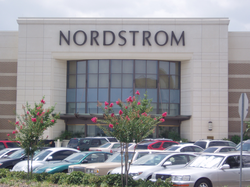 The exterior of a typical Nordstrom department store. This one is the now closed location at                                 The Florida Mall                                in                                 Orlando, Florida                                .
