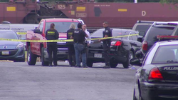 Photo from the scene of the shooting