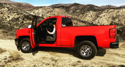 Photo of Pedro and his truck from Instagram