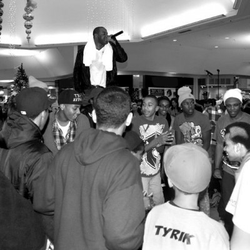 Shyan LIVE youth benefit at the Commons Mall in Federal Way, WA