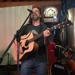 Stephen Evans at French Broad Brewery