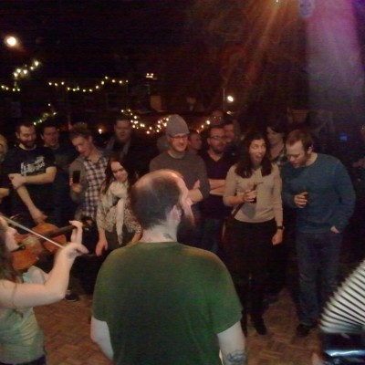 Acoustic jams at Martyrs'