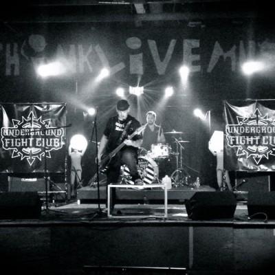 UNDERGROUND FIGHT CLUB LIVE PHOTO 2