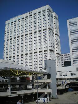 main building of the Erasmus MC, the University Medical Center.