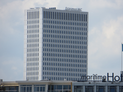 new building (2012) of the Erasmus MC.
