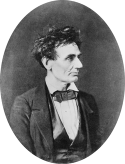 Lincoln in 1857.