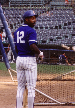 Shawon Dunston was the Cubs shortstop for 10 years.