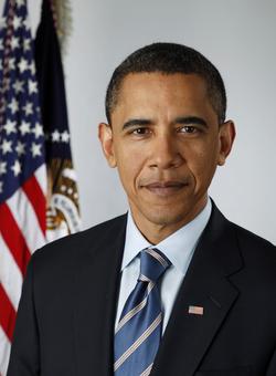 Obama's first term presidential portrait (2009)