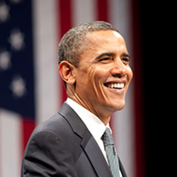 Undated picture of Barack