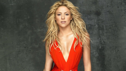 """""""Shakira in a red dress"""""""