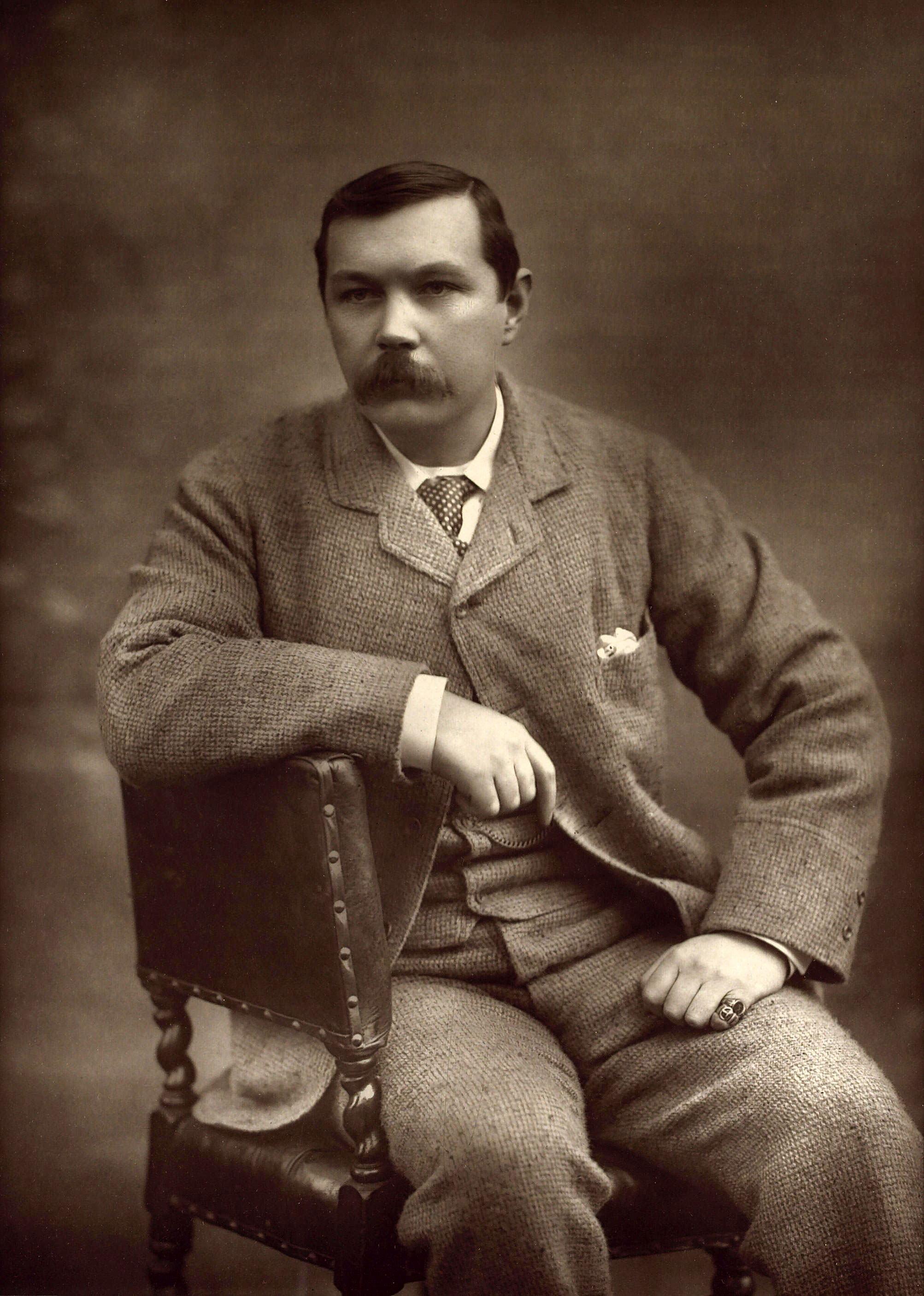 Portrait of Doyle by Herbert Rose Barraud, 1893