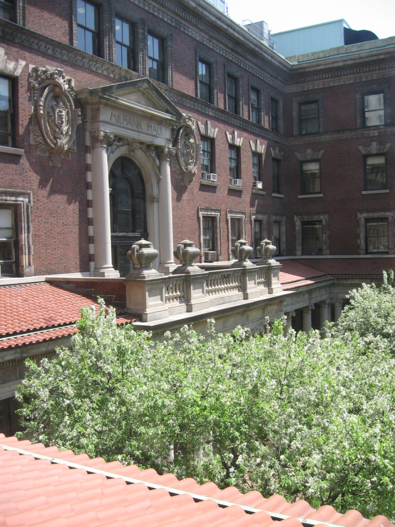 A view of Milbank Hall, Barnard College