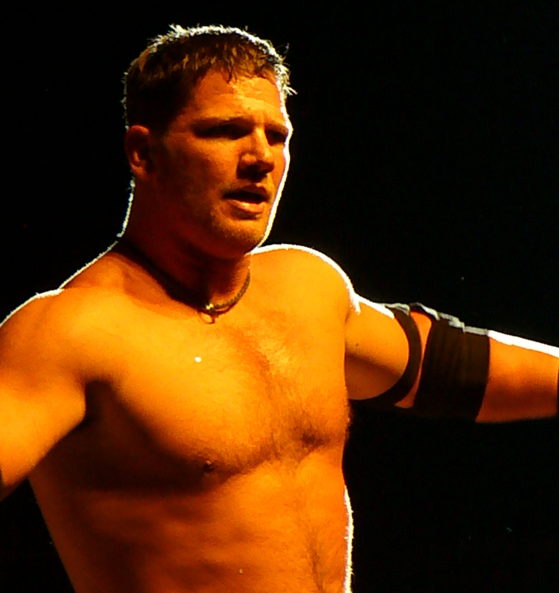 Styles at a TNA house show in London, England in September 2008