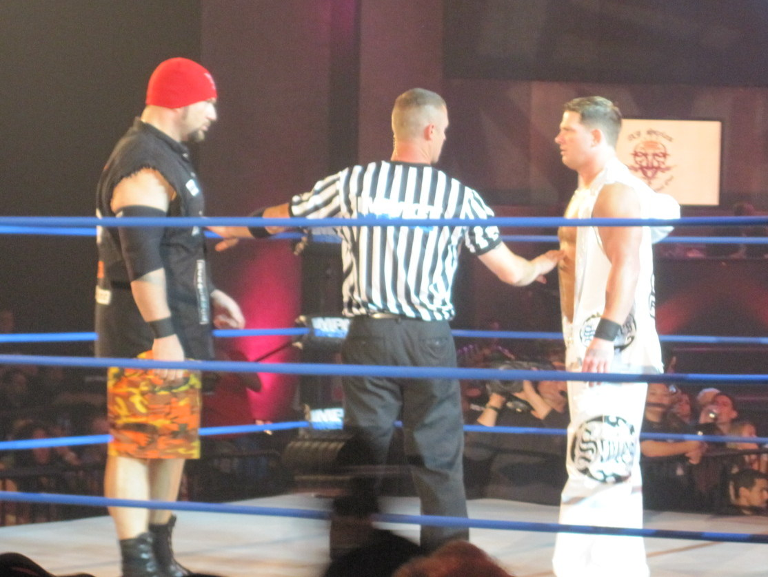 Styles facing Bully Ray at Slammiversary IX